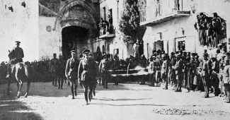 Image: Allenby enters Jerusalem